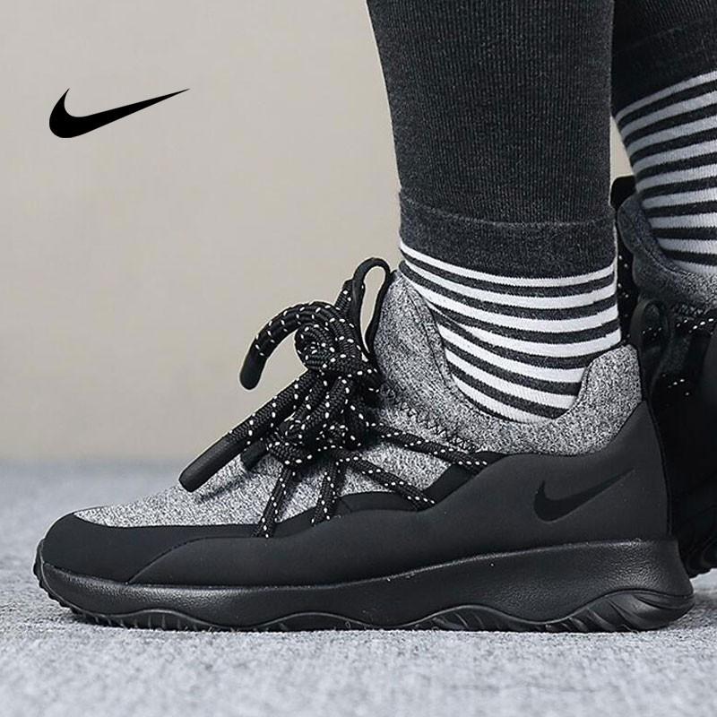 Nike WMNS City Loop 粗綁帶 女神 百搭 慢跑鞋 黑灰 AA1097-001