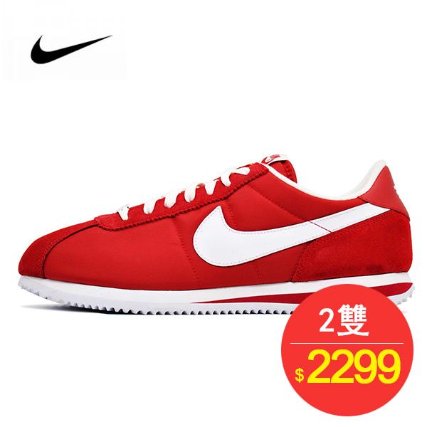 情侶鞋 Nike Classic Cortez 復古 阿甘 百搭  紅白 476716-611