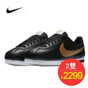 TB2apuWtylnpuFjSZFgXXbi7FXa 71985201 300x300 - 男鞋 Nike Classic Cortez 阿甘 百搭 慢跑鞋  黑白金 807471-012