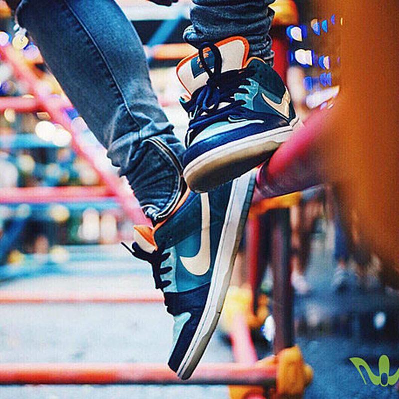 MIA Skate Shop x Nike SB Dunk Low Pro 低筒 街頭 板鞋  504750-474