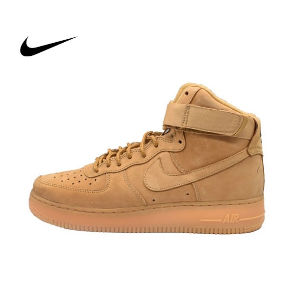 NIKE AIR FORCE 1 HIGH WB WHEAT 情侶鞋 高筒 小麥 882096-200