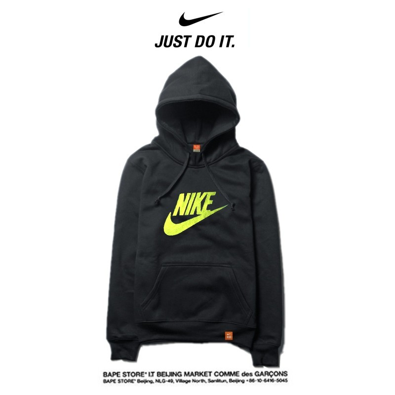 Nike 薄款 衛衣 寬鬆 長袖 套頭 情侶款