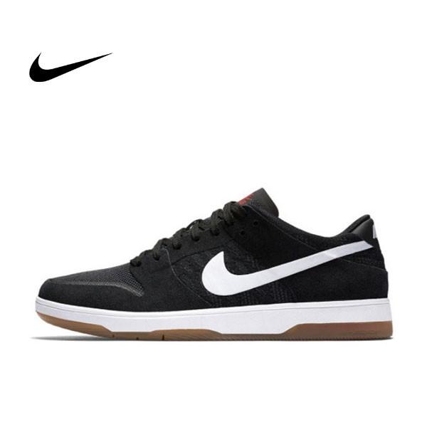 NIKE SB ZOOM DUNK LOW ELITE 黑白 薄鞋舌 滑板鞋 膠底 情侶款 864345-01
