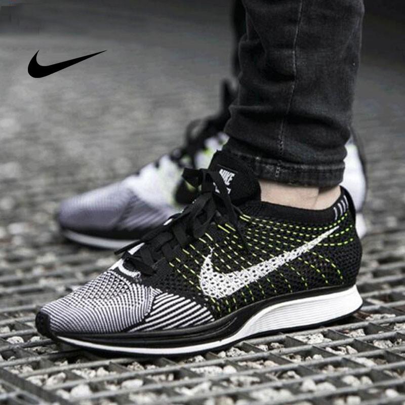 Nike Flyknit Racer 情侶 運動 輕便 編織 休閑 跑步鞋  526628/902366