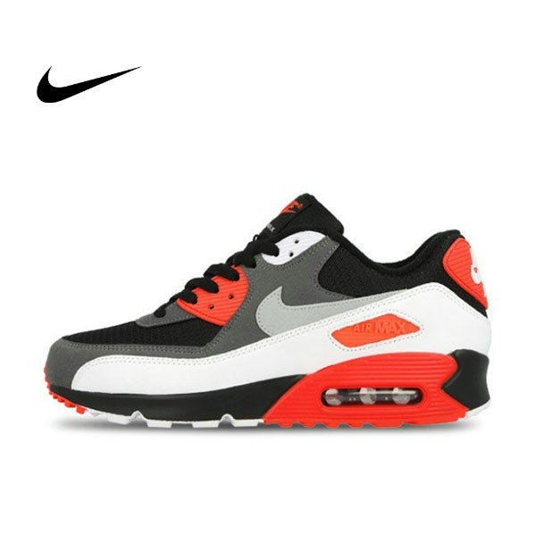NIKE AIR MAX 90 OG 黑紅 元年 男子休閑氣墊跑步鞋 725233-006