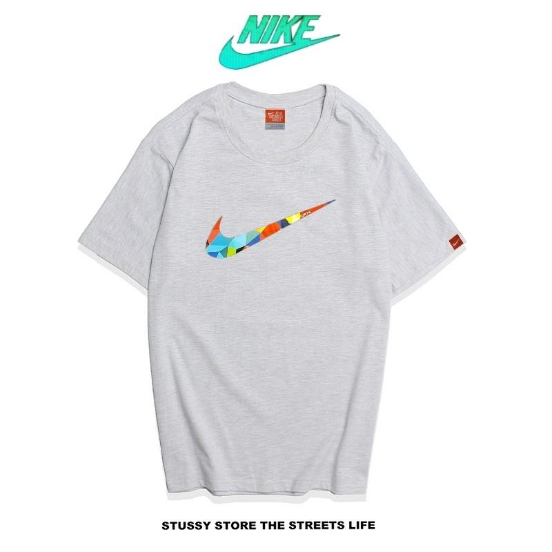 Nike Futura Icon Logo Tee 創意字勾 基本款 男款 灰色