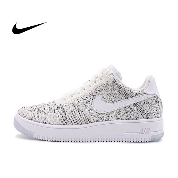NIKE AIR FORCE 1 FLYKNIT LOW AF1 飛線 女子休閑板鞋820256-103