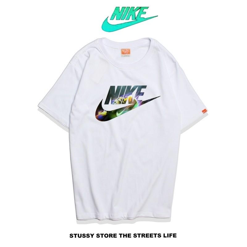 Nike Futura Icon Logo Tee 彩色字勾 基本款 男款 白色