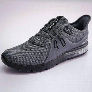 bfd00c659d586650 300x300 - 男鞋 Nike Air Max Sequent 3代 後掌 緩震 超軟 氣墊 慢跑鞋 黑水泥深灰 921694-009