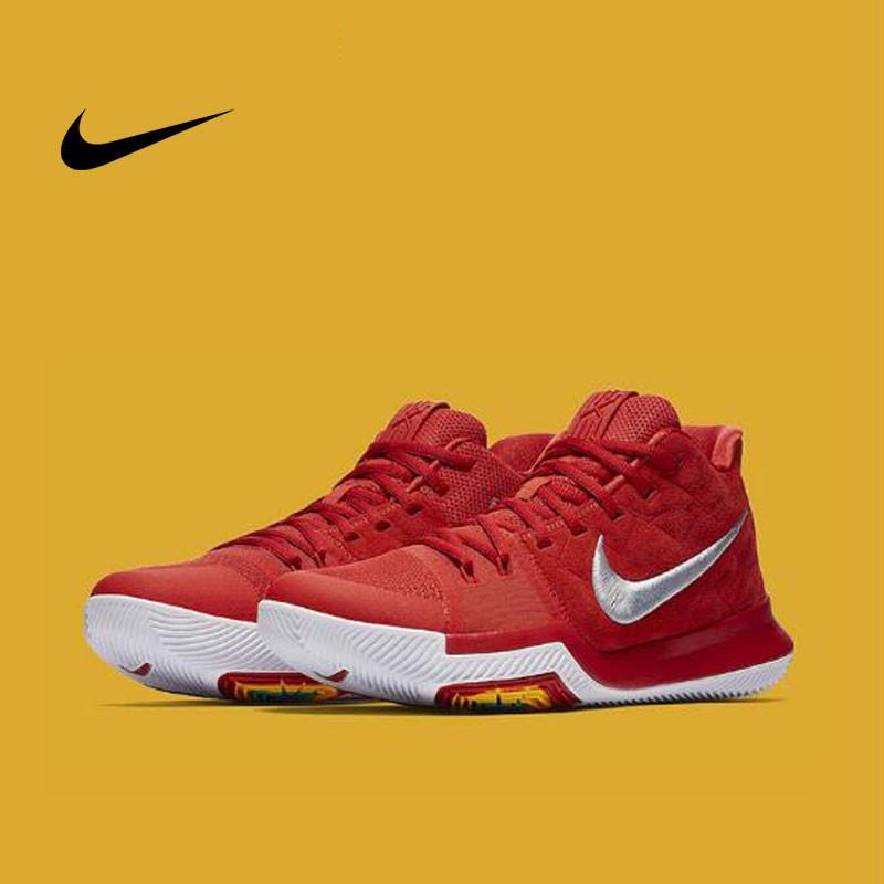 Nike Kyrie3 厄文3 酷灰大紅 夏日白 李小龍 852396-902-005