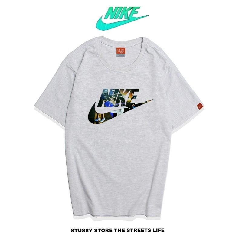 Nike Futura Icon Logo Tee 圖案字勾 基本款 男款 灰色