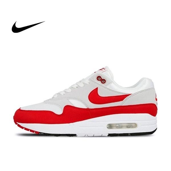 Nike Air Max 1 OG Anniversary 復刻 灰白紅 週年限定 情侶鞋 908375-103
