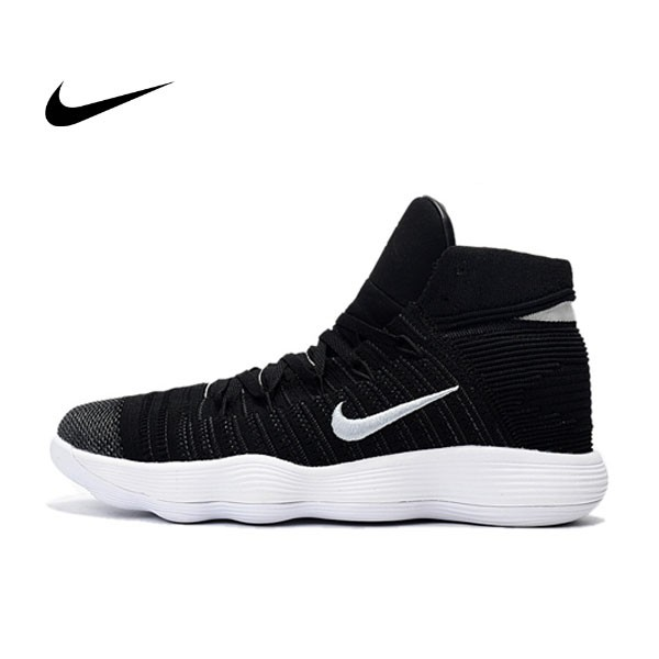 Nike React Hyperdunk Flyknit 黑白 酷灰紋 籃球鞋 男款 917727-002
