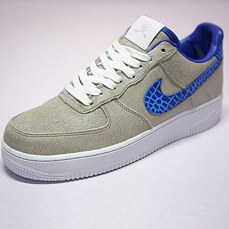 The Shoe Surgeon x Nike Air Force 1  LV8 獒犬 灰毛藍 情侶鞋 AO8111-100
