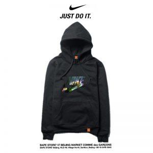 c9f6e5111f6316fc 300x300 - Nike 2018春秋薄款 衛衣 寬鬆 長袖 套頭 情侶款 黑色 印花logo