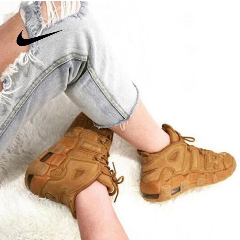 Nike Air More Uptempo SE (GS) - 大Air 棕色 情侶鞋 922845 200