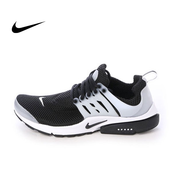 NIKE AIR PRESTO 黑白 網面 武士鞋 慢跑 情侶鞋 848132-010