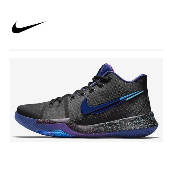 Nike Kyrie 3 KI3 Flip the Switch 斷勾 夢幻黑藍 籃球鞋 男 852396-003