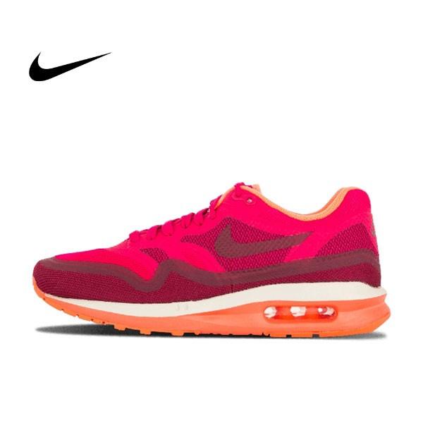 Nike Wmns Air Max Lunar1 桃紅 無縫接 女鞋 654937 600