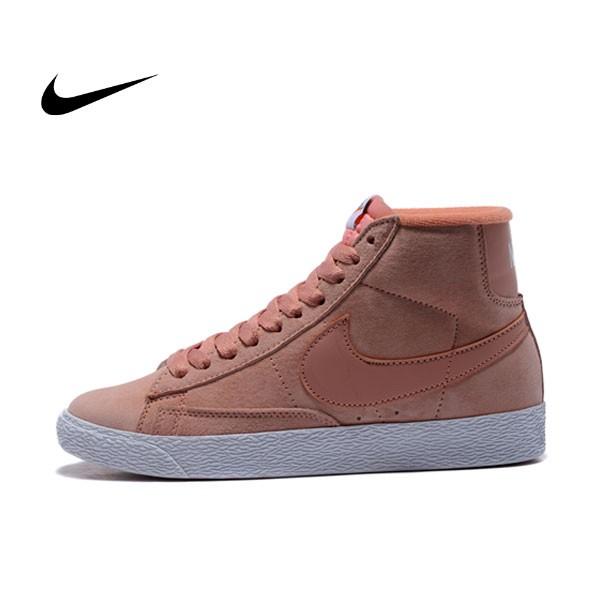 NIKE BLAZER LOW PRM VNTG 復古 粉白 麂皮 防滑 女鞋