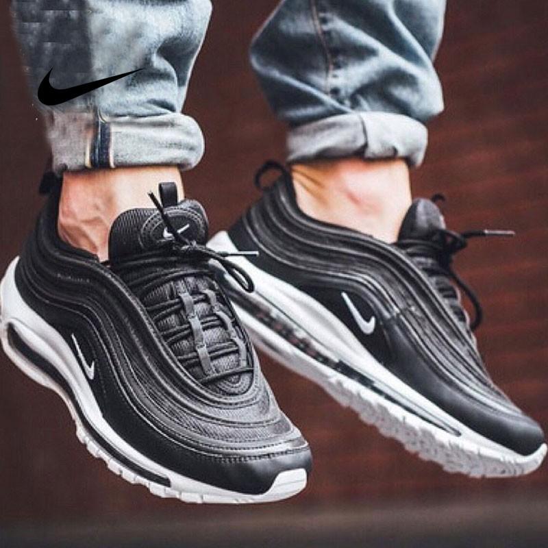 Nike Air Max 97 - 921826 001  黑白 情侶鞋