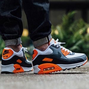 e69227c9b4ad2451 300x300 - Nike Air Max 90 Essential氣墊增高跑鞋白橙灰537384-126-128-065