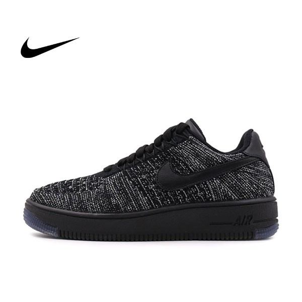 NIKE AIR FORCE 1 FLYKNIT LOW AF1 飛線 女子板鞋820256-102