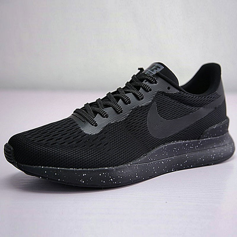 男鞋 Nike Internationalist LT 復古 百搭 慢跑鞋 全黑噴墨 872087-011