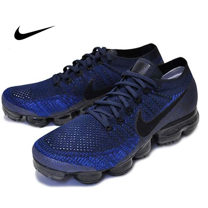 Nike Air Vapormax Flyknit 黑藍 深藍 全氣墊 情侶鞋 849558-400