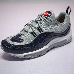 f5e4eb07e5e26c65 300x300 - Supreme x NikeLab Air Max 98 復古氣墊百搭慢跑鞋 海軍藍灰 844694-400 男鞋