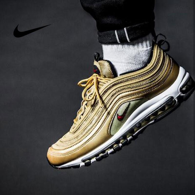 Nike Air Max 97 OG QS - 884421 700 黃色 男鞋