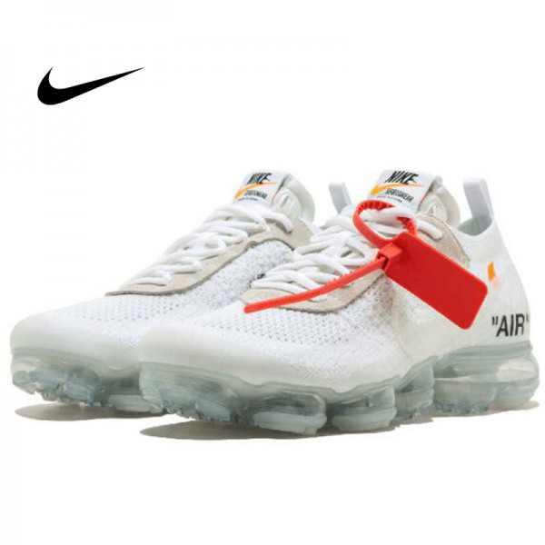 OFF-WHITE x Nike Air VaporMax 2.0 聯名款 慢跑鞋 白色 情侶款 休閒 百搭 AA3831-002-100