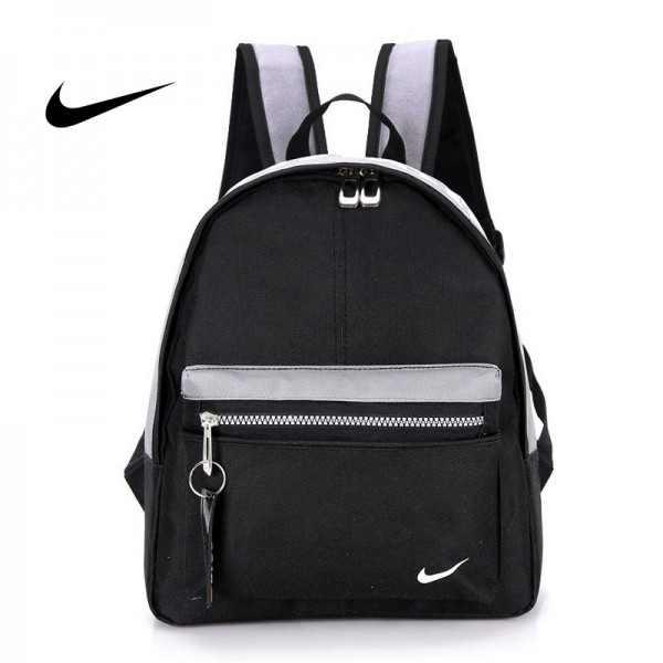 Nike 迷妳後背包 男童 女童 書包 小背包 黑灰色