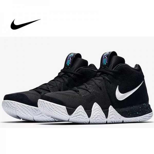 Nike Kyrie 4 GS 歐文4代 首發 黑白 男子 籃球鞋 耐磨 防滑 時尚 AA2897-002