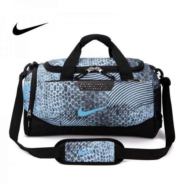 Nike 手提包 旅遊包 大容量 健身包 天藍色 單肩包 寬52*高30*厚24