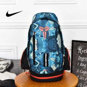 1438831a9108ee43 300x300 - Nike Kobe 籃球包 大容量 雙肩包 旅行包 學生書包 鞋袋包 藍色 49*27*19