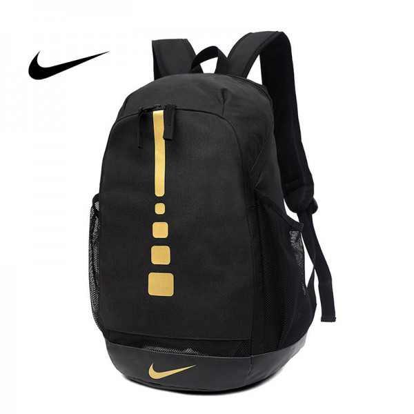 感嘆號 Nike 雙肩包 學生書包 旅行包 健身包 潮流後背包 黑色 45*29*20