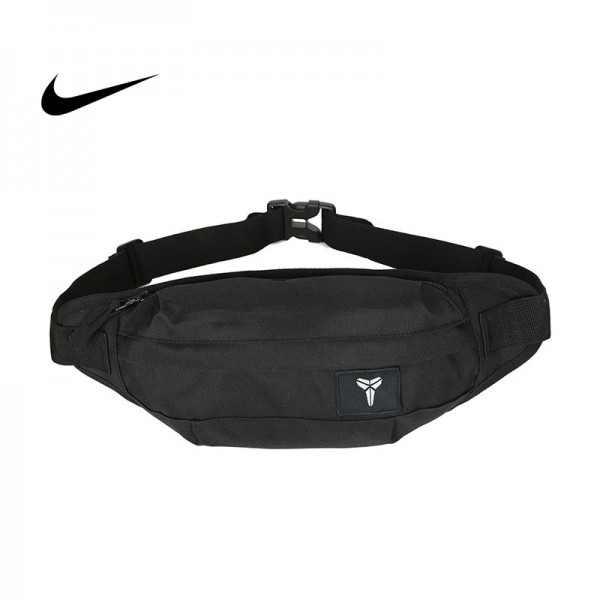 Nike Kobe腰包 騎行包 零錢包 胸包 斜挎包 黑色 時尚百搭 NK-1641