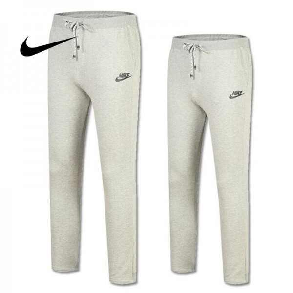 NIKE  經典情侶款 TL9906 運動褲 灰色 純棉 時尚百搭