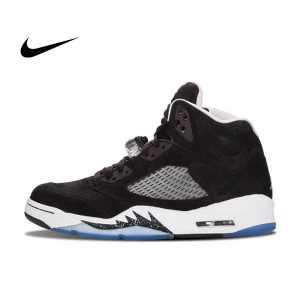 1955e7c399c6d35b 300x300 - Nike AIR Jordan 5 喬丹5 AJ5 奧利奧 黑白 男鞋 136027-035