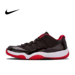 19f93249312f5a44 300x300 - Nike Air Jordan 11 Retro Low Bred AJ11 低幫 黑紅 男鞋 528895 012