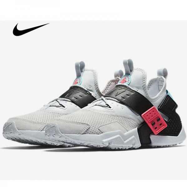 Nike Air Huarache武士鞋六代 灰黑 麂皮 情侶款 時尚 百搭 AH7335-003
