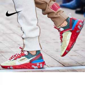 1f299371371cab09 300x300 - UNDERCOVER x Nike Upcoming React Element 87 半透明 前衛 慢跑鞋 大紅淡 綠白 情侶款 AQ1813-339