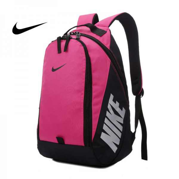 Nike 雙肩背包 帆布包 玫紅色 後背包 時尚 百搭 NK-0151 寬36*高50*厚15