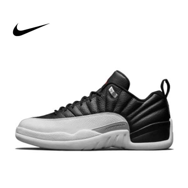 "AIR JORDAN 12 RETRO LOW ""Playoffs"" 黑白 AJ12 季後賽 男鞋 308317-004"