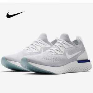 28fb9e4027cbba47 300x300 - Nike Epic React Flyknit 泡棉 顆粒 針織 超輕量 慢跑鞋 白藍 情侶款 AQ0067-100