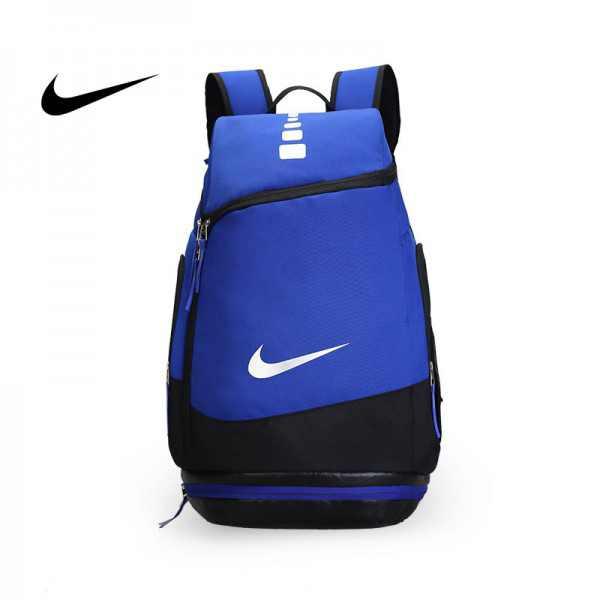 NIKE 情侶款 雙肩包 帆布 後背包 大容量 藍色 時尚 百搭 厚19*寬30*高52