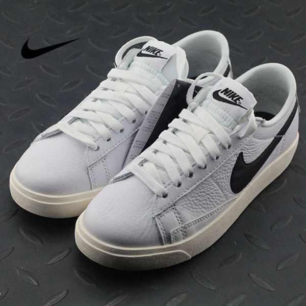 Nike Blazer Low Premium 白黑 小白鞋 情侶款 休閑 板鞋 時尚 百搭 454471-104