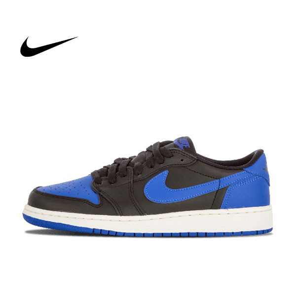 Air Jordan 1 Retro Low OG BG 黑蓝 低筒 男鞋 709999 004
