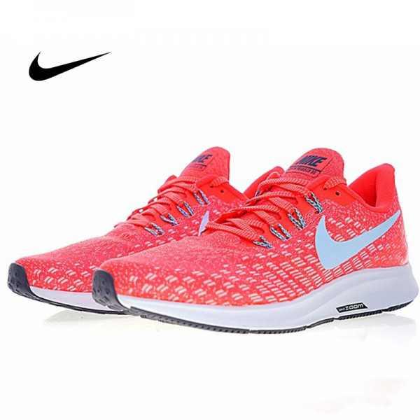 Nike Air Zoom Pegasus 35 登月 男鞋 新款 網面透氣慢跑鞋 粉色 時尚 百搭 942851-006